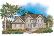 Colonial Style House Plan - 4 Beds 3.5 Baths 2632 Sq/Ft Plan #929-632