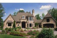 House Design - Tudor Exterior - Front Elevation Plan #928-61