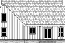 House Plan Design - Farmhouse Exterior - Rear Elevation Plan #21-461