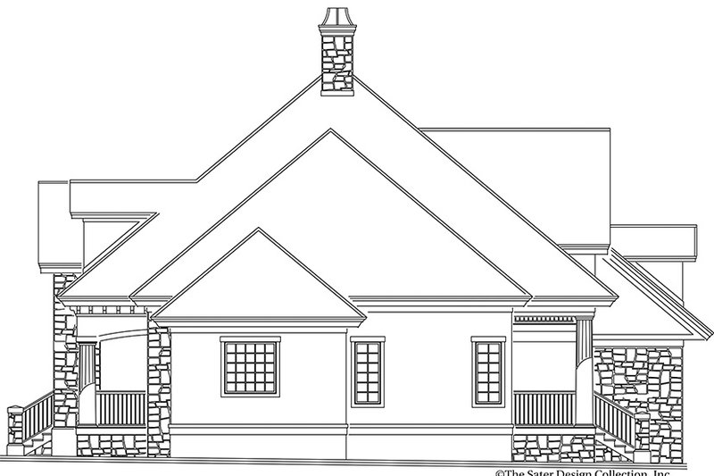 Country Exterior - Other Elevation Plan #930-240 - Houseplans.com