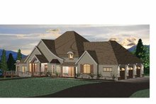 House Design - European Exterior - Front Elevation Plan #937-15