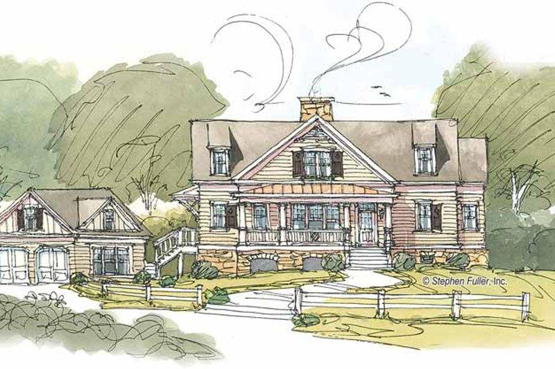 House Plan Design - Craftsman Exterior - Front Elevation Plan #429-382