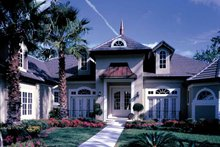 Architectural House Design - European Exterior - Front Elevation Plan #417-629