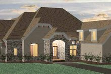 House Plan Design - Country Exterior - Front Elevation Plan #937-13