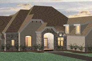 House Design - Country Exterior - Front Elevation Plan #937-13