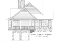 House Plan Design - Craftsman Exterior - Other Elevation Plan #929-945