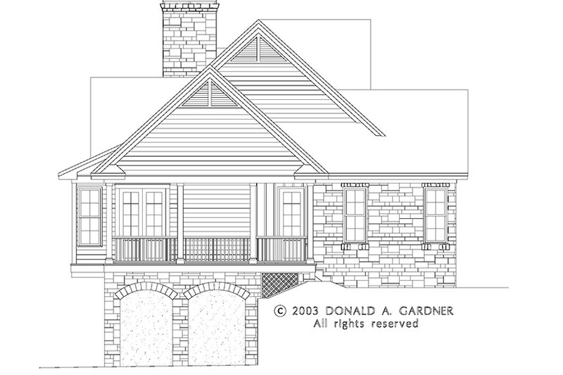 Craftsman Exterior - Other Elevation Plan #929-945 - Houseplans.com