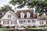 Country Style House Plan - 3 Beds 2.5 Baths 2137 Sq/Ft Plan #929-961 Exterior - Front Elevation