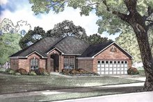 Traditional Exterior - Front Elevation Plan #17-2883