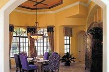 Home Plan - Mediterranean Interior - Dining Room Plan #930-353