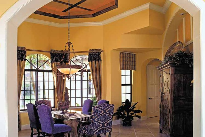 Mediterranean Interior - Dining Room Plan #930-353 - Houseplans.com