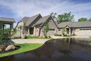 Traditional Style House Plan - 2 Beds 2 Baths 1964 Sq/Ft Plan #928-115 Exterior - Front Elevation