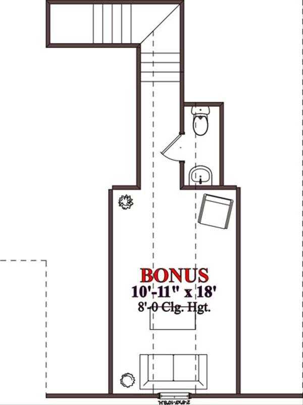 Traditional Floor Plan - Other Floor Plan Plan #63-202