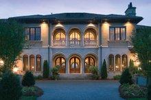 Architectural House Design - Mediterranean Exterior - Front Elevation Plan #453-604