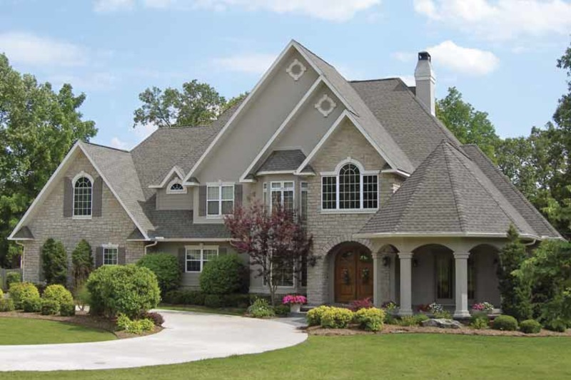 Country Exterior - Front Elevation Plan #11-275 - Houseplans.com