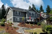 Craftsman Style House Plan - 3 Beds 2.5 Baths 2233 Sq/Ft Plan #1070-17 Exterior - Rear Elevation