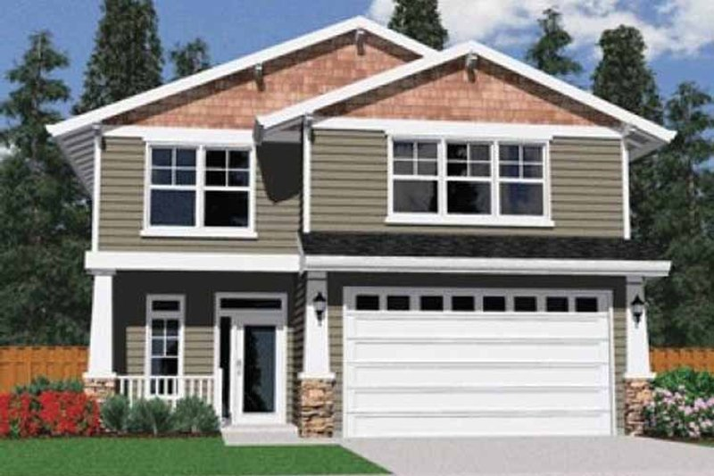 House Plan Design - Traditional Exterior - Front Elevation Plan #509-187