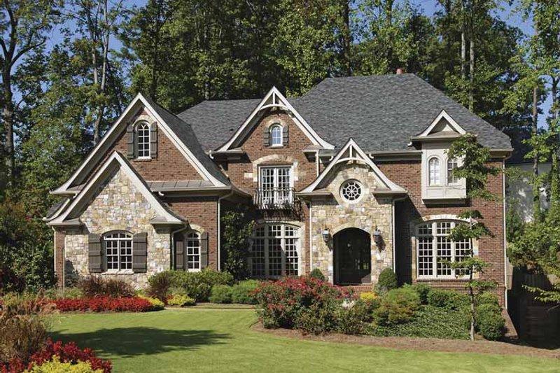 Craftsman Exterior - Front Elevation Plan #54-288 - Houseplans.com