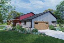 Dream House Plan - Farmhouse Exterior - Other Elevation Plan #120-274