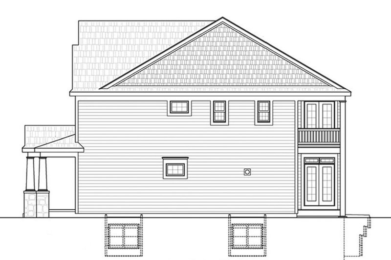 Colonial Exterior - Other Elevation Plan #20-2248 - Houseplans.com