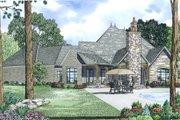 European Style House Plan - 4 Beds 3.5 Baths 3752 Sq/Ft Plan #17-2498