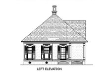Southern Exterior - Other Elevation Plan #45-253