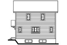 Home Plan - Modern Exterior - Rear Elevation Plan #23-2029