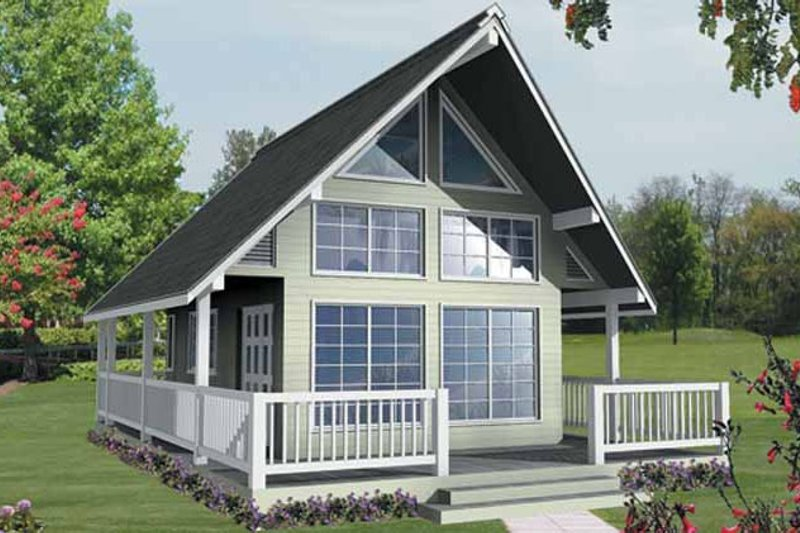 Home Plan - Traditional Exterior - Front Elevation Plan #118-156