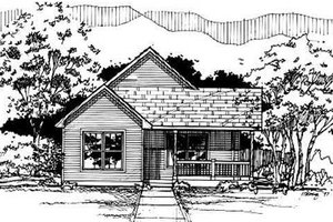 Traditional Exterior - Front Elevation Plan #50-221