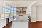 Contemporary Style House Plan - 4 Beds 4.5 Baths 4021 Sq/Ft Plan #892-30 Interior - Kitchen