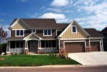 Home Plan - Craftsman Exterior - Front Elevation Plan #51-369