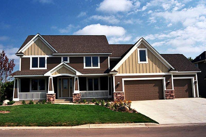 Craftsman Exterior - Front Elevation Plan #51-369 - Houseplans.com