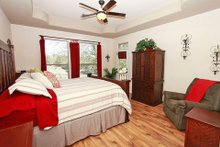 Home Plan - Mediterranean Interior - Master Bedroom Plan #80-151