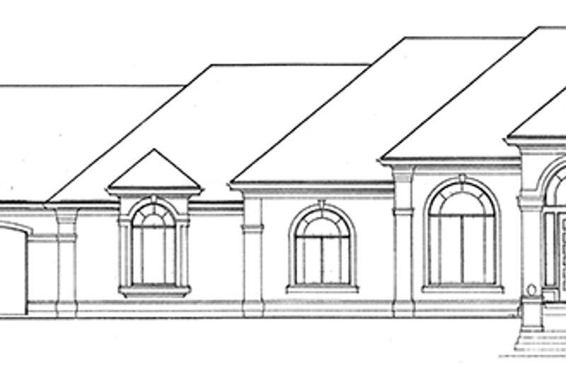European Exterior - Front Elevation Plan #966-76 - Houseplans.com