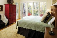 Dream House Plan - Craftsman Interior - Master Bedroom Plan #929-754