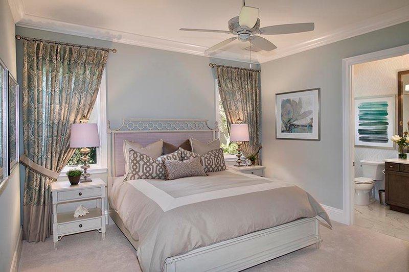 Mediterranean Interior - Bedroom Plan #1017-166 - Houseplans.com