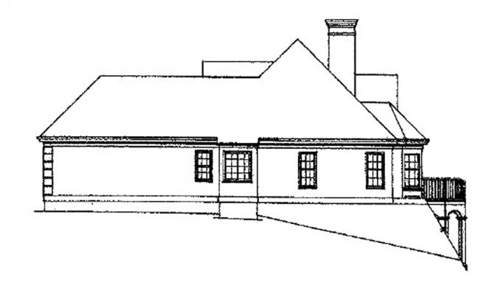 building plans for homes traditional style house plan 3 beds 2 5 baths 1684 sq ft 16531