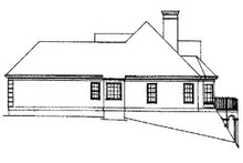 House Design - Traditional Exterior - Other Elevation Plan #429-78