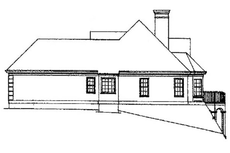 Traditional Exterior - Other Elevation Plan #429-78 - Houseplans.com