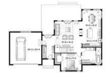 Country Floor Plan - Main Floor Plan Plan #23-2590