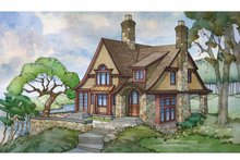 Dream House Plan - Craftsman Exterior - Front Elevation Plan #928-245