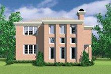 Home Plan - Mediterranean Exterior - Rear Elevation Plan #72-1118