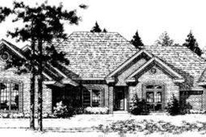 Traditional Exterior - Front Elevation Plan #310-170
