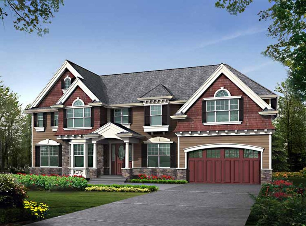 Craftsman Style House Plan 5 Beds 4 Baths 3785 Sq Ft Plan 132 461 Eplans Com,Property Brothers Houses For Sale
