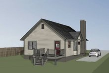 Dream House Plan - Cottage Exterior - Other Elevation Plan #79-134