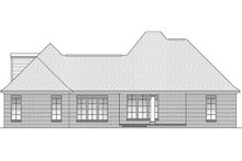 House Design - European Exterior - Rear Elevation Plan #430-46