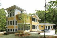 House Design - Prairie Exterior - Rear Elevation Plan #928-38