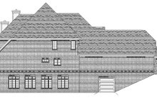 European Exterior - Other Elevation Plan #1057-3