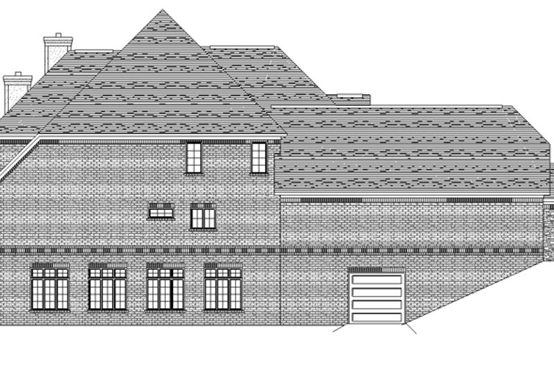 European Exterior - Other Elevation Plan #1057-3 - Houseplans.com