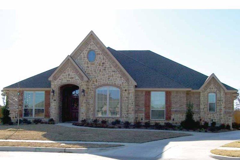 Tudor Exterior - Front Elevation Plan #84-727 - Houseplans.com